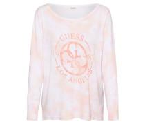 Pullover 'sara' orange / weiß / pink