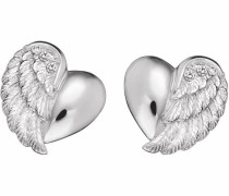 Paar Ohrstecker 'Herzflügel Ere-Lilheartwing-St'