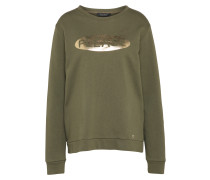 Sweater gold / oliv
