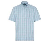 Hemd blau / hellblau / grün / mint / weiß