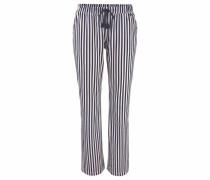 Pyjamahose creme / dunkelblau