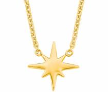 Kette 'Stern 2019959' gold