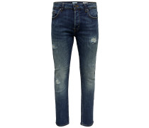 'Loom Bl Breaks' Slim Fit Jeans