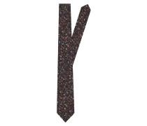 Krawatte mischfarben / schwarz