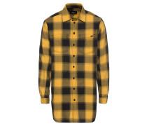 Hemd 'Aren' gelb / schwarz