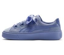 Sneaker 'Platform Kiss' taubenblau