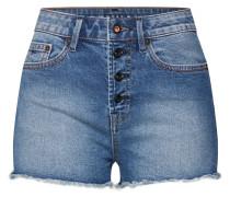 Jeansshorts 'heidi' blue denim