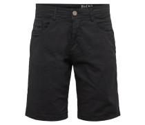 Hose 'Shorts' schwarz