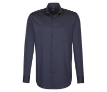 City-Hemd 'Modern' navy