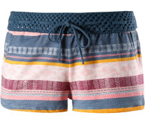 'Flowery' Shorts navy / altrosa