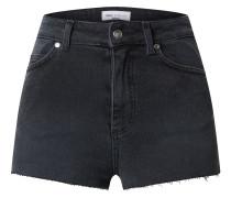 Shorts 'High Rise Raw Hem Denim Shorts'