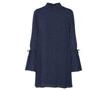Kleid 'anna' blau / weiß