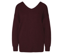 Pullover 'knot Back Sweater' rot