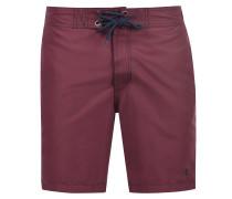 Shorts 'gomes' bordeaux