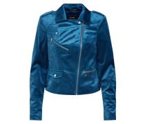 Jacke 'hazle Velvet' blau