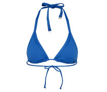 Bikini Oberteil 'Slide Tri' royalblau