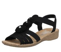 Sandale '61695-00' schwarz