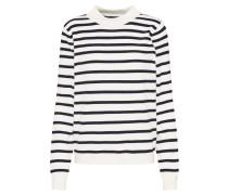 Pullover 'thess' schwarz / weiß