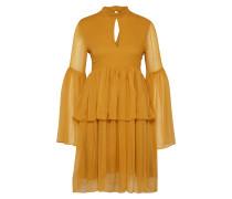 Kleid 'Kourtney' goldgelb