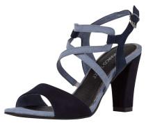 Sandalette dunkelblau / rauchblau