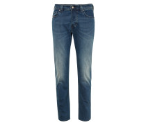 Tapered-Fit Jeans 'Larkee-Beex' blue denim