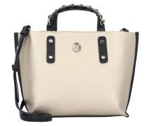 Tasche beige / schwarz