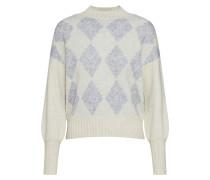 Pullover 'beril' beige / grau