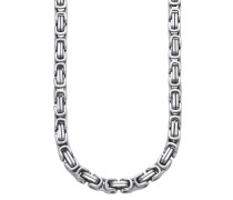 Halskette in Königskettengliederung silber