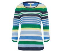 Shirt 'carol' blau / gelb / grün / weiß