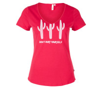Shirt himbeer