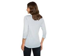 Shirt rauchblau / hellblau