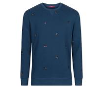"Sweatshirt ""PEDRO-Sweatshirt"" blau"
