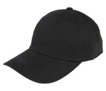 Cap 'Low Profile Cotton Twill ' schwarz