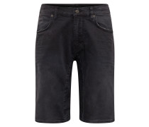 Shorts 'seek' black denim