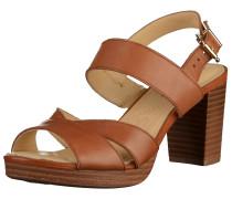 Sandalen karamell