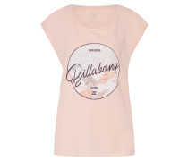 Shirt 'All Night Tee' mischfarben / rosa