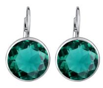 Ohrringe smaragd / silber