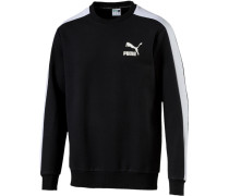 'Classics T7' Sweatshirt schwarz / weiß