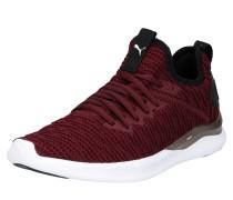 Schuhe 'ignite Flash Luxe' weinrot / schwarz