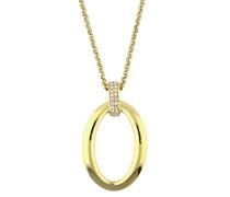 Halskette Athina mit ovalem Anhänger Elnl12662D800