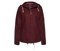Parka aus Baumwolle 'Chicago' bordeaux