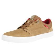 Sneaker 'Barton Suede' senf / weiß