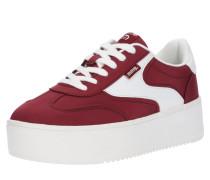 Sneaker 'claus' bordeaux