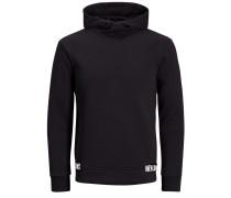 Grafik-Sweatshirt schwarz / weiß