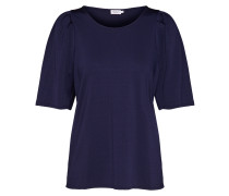 Shirt 'Pleat Top' navy