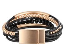 Armband 'Rabea' gold / schwarz