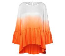 Bluse 'lg007910' orangerot / weiß