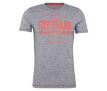 T-Shirt dunkelgrau / rot