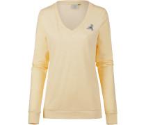 Sweatshirt 'Nelin' pastellgelb