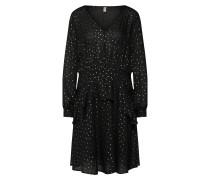 Kleid 'Maya' schwarz / weiß